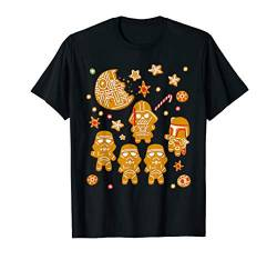 Star Wars Gingerbread Cookies Galactic Empire Holiday T-Shirt von Star Wars