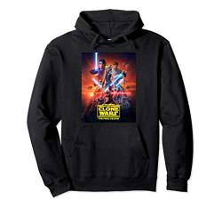Star Wars The Clone Wars The Final Season Poster Pullover Hoodie von Star Wars