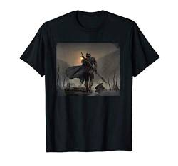 Star Wars The Mandalorian Mando and the Child Walk T-Shirt von Star Wars
