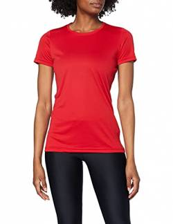 Stedman Apparel Damen Active Sports-T/ST8100 Sport T-Shirt, Purpurrot, 42 (Herstellergröße:X-Large) von Stedman Apparel