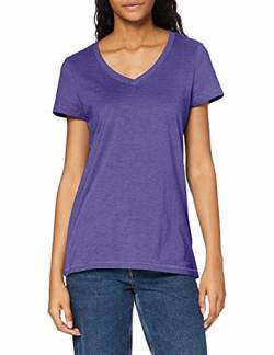 Stedman Apparel Damen Lisa (V-Neck)/ST9910 Premium T-Shirt, Lila Heather, 42 (Herstellergröße:X-Large) von Stedman Apparel