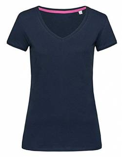 Stedman Apparel Damen T-Shirt  , Blau (Marina Blue) , Large von Stedman Apparel