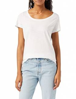 Stedman Apparel Damen Sharon Oversized Slub Crew Neck/ST9550 T-Shirt, weiß, Large von Stedman Apparel