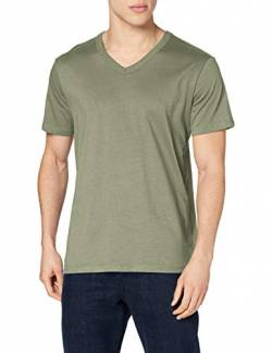 Stedman Apparel Herren Ben (V-Neck)/ST9010 Premium T-Shirt, Military Green, L von Stedman Apparel