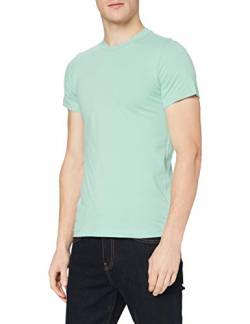 Stedman Apparel Herren James (Crew Neck)/ST9200 Premium T-Shirt, Blau satiniert, M von Stedman Apparel