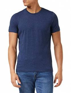 Stedman Apparel Herren Luke (Crew Neck)/ST9800 Premium T-Shirt, Blau (Navy Heather), S von Stedman Apparel