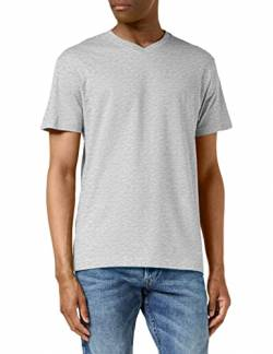 Stedman Apparel Herren Classic-T V-neck/ST2300 T-Shirt, Grey Heather, XXL von Stedman Apparel