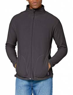 Stedman Apparel Herren Sweatshirt Active Fleece Jacket/ST5030 Grey Steel L von Stedman Apparel
