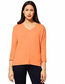 Street One Damen 315820 T-Shirt, Strong Mandarine, 42 von Street One