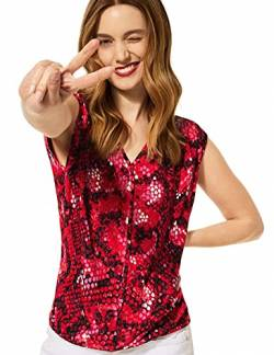 Street One Damen 342656 Bluse, Spice red, 34 von Street One