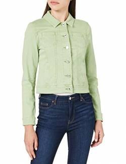 Street One Damen Roxana Jeansjacke, Faded Green Soft wash, 46 von Street One