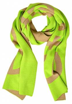 Street One Damen Schal mit Logo-Aufdruck flash lime A von Street One