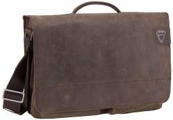 Strellson Aktentasche Richmond Briefbag XL Dark Brown von Strellson