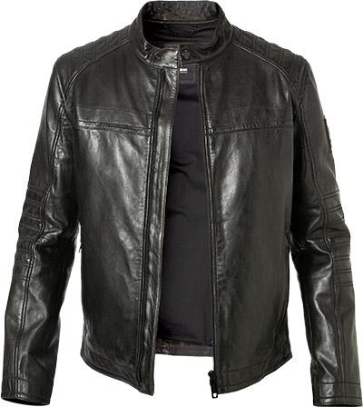 StrellsonAYAN Lederjacke black: : Bekleidung