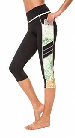 Sugar Pocket Sporthose Damen Yoga Hosen Training Laufende Leggings L von Sugar Pocket