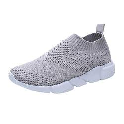 Damen Turnschuhe Sportschuhe, Sunday Frauen Sneakers Mesh Walking Shoes Leicht Freizeitschuh Rutsch Plattform Schuhe 36-41 von Sunday_Schuhe Damen