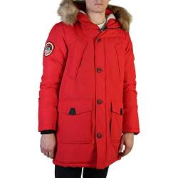 Superdry Herren Everest Parka, Rot (Deep Berry HW6), Medium (Herstellergröße:M) von Superdry