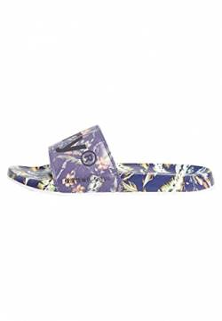 Superdry Herren Printed Beach Slide Slipper, Indo Leaf, Medium EU von Superdry