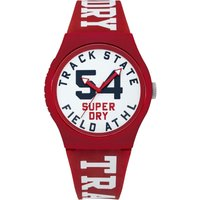 Superdry Herrenuhr in Rot SYG182WR von Superdry