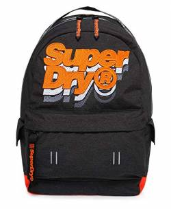 Superdry Rucksack JACKY MONTANA Dark Marl Hazard Orange, Size:ONE SIZE von Superdry