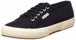 Superga Unisex 2750 Cotu Classic Fashion-Sneakers, Schwarz, 45 EU von Superga