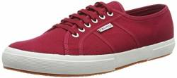 Superga Herren 2750 Cotu Classic Low-Top, Rot (Red Dk Scarlet 104), 48 EU von Superga