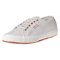Superga Unisex 2750 Cotu Classic Baskets De Mode, Gris (Lt Grey/Rose Gold F00), 42.5 EU von Superga