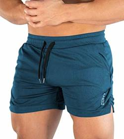 Superora Herren Shorts Sport Hosen Laufshorts Trainingshose Fitness Training Outdoor Sporthose mit Tasch von Superora