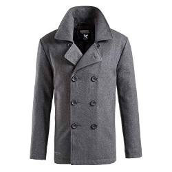 Surplus Herren PEA Coat, Anthracite, S von Surplus Raw Vintage