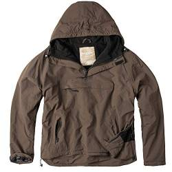 Surplus Herren Windbreaker Outdoor Jacke, braun, XXL von Surplus Raw Vintage