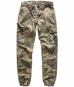 Surplus Bad Boys Pants, 4 Color camo, L von Surplus
