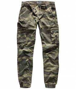 Surplus Bad Boys Pants, Green-camo, M von Surplus