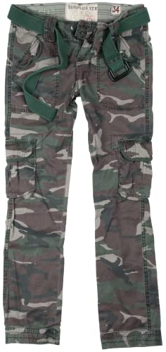 Surplus Damen Cargohose Gr. 10, Multicoloured - Light Woodland von Surplus