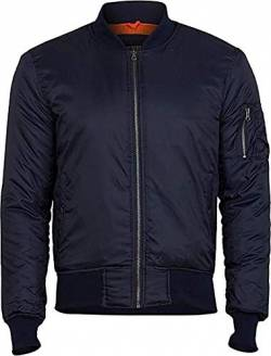 Surplus Herren Basic Bomberjacke, Navy, 5XL von Surplus