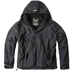 Surplus Herren Windbreaker Outdoor Jacke, schwarz, 4XL von Surplus Raw Vintage