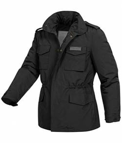 Surplus Hydro US Fieldjacket M65, schwarz, 5XL von Surplus