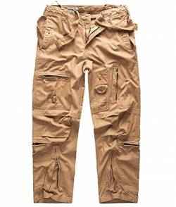 Surplus Infantry Cargo Trouser, beige, Grösse XL von Surplus