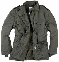 Surplus Raw Vintage Paratrooper Jacke, Oliv, XL von Surplus