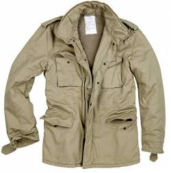 Surplus Raw Vintage Paratrooper Jacke, beige, M von Surplus