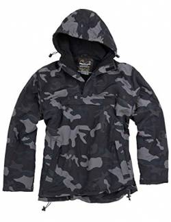 Surplus Windbreaker , Schwarz-Camo, XXL von Surplus Raw Vintage