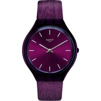 Swatch FW19 Skin Skintempranillo Damenuhr in Burgundy SVOV101 von Swatch