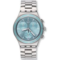 Swatch Irony Chrono Clear Water Unisexchronograph in Silber YCS589G von Swatch