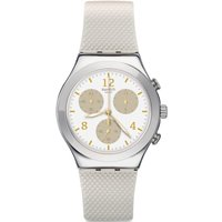 Swatch Irony Chrono Hello Pretty Unisexchronograph in Weiß YCS114 von Swatch