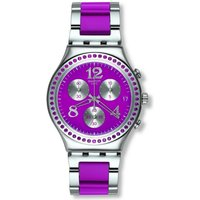 Swatch Irony Chrono Secret Thought Raspberry Damenchronograph in Pink YCS555G von Swatch