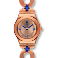 Swatch Irony Lady Goldenlinkings Damenuhr in Rosa YSG148G von Swatch