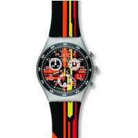 Swatch Irony Medium Sign Out Damenchronograph in Mehrfarbig YMS4009 von Swatch