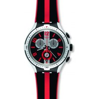 Swatch Irony X-Lite Chrono Irony X-Lite -Stripes Herrenchronograph in Schwarz YYS4013 von Swatch