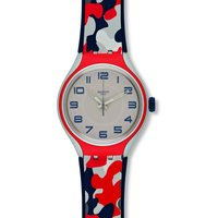 Swatch Irony X-Lite Look For Me Unisexuhr in Mehrfarbig YES1000 von Swatch