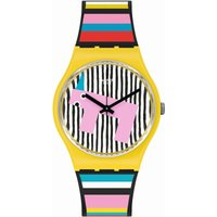 Swatch Original Gent Necessary Focus Unisexuhr in Mehrfarbig GZ341 von Swatch