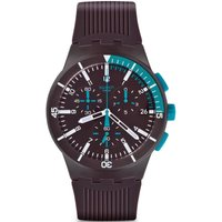 Swatch Originals Chrono Chronoplastic - Purple Power Herrenchronograph in Lila SUSV400 von Swatch